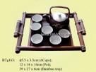 Tea-set & Plate
