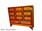 H85cm lacquer chest with 11drawers