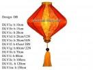 DB shape, h100cm silk lantern