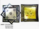 Set 3pcs square Plate (1set)