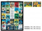 Tintin lacquer painting (2pcs/2size)