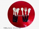 Set 3pcs eating tool